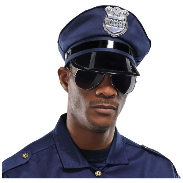 Cops & Robbers Mirror Fun Glasses